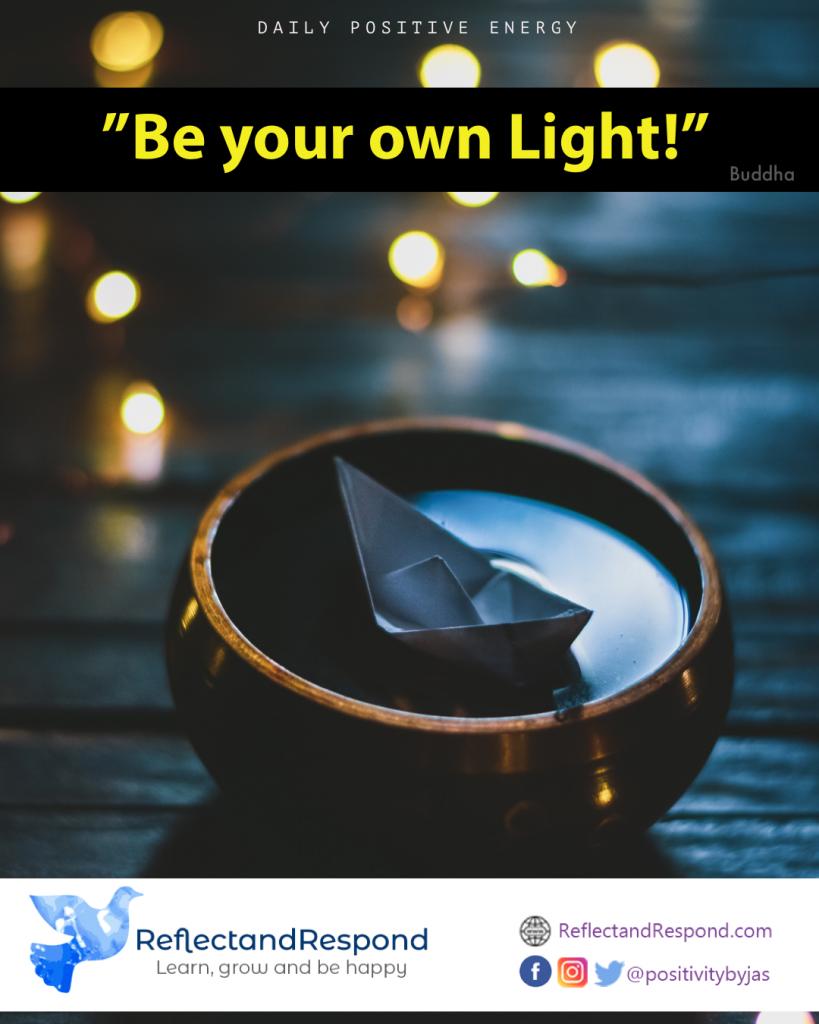 buddhist quotes buddha own light
