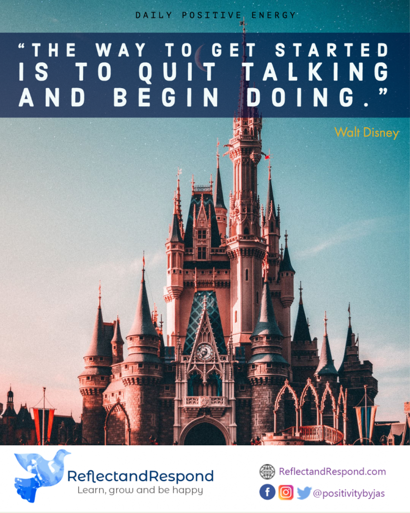 teen- inspirational quote meditate disney