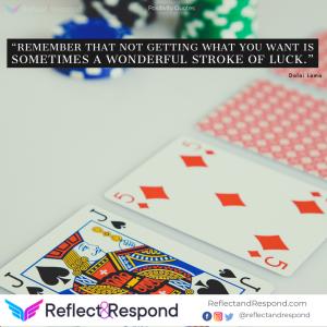 Dalai Lama Quote on Luck