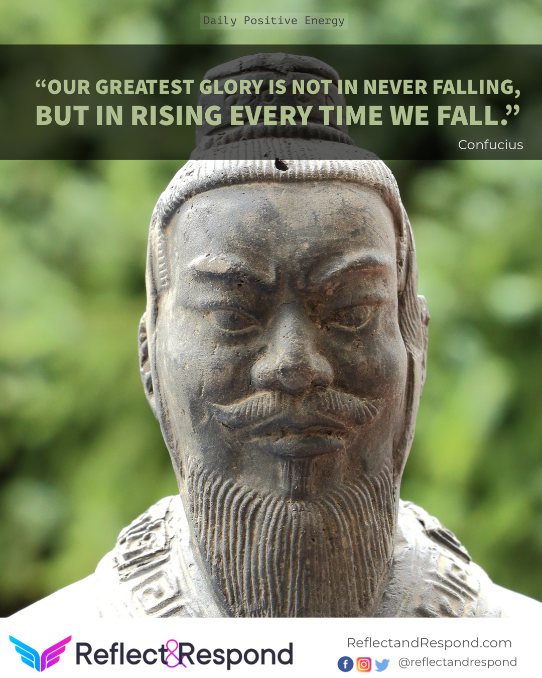 Confucius quotes Our greatest glory