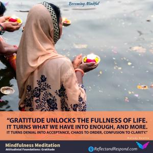 Mindfulness Attitudinal-Foundations-Gratitude