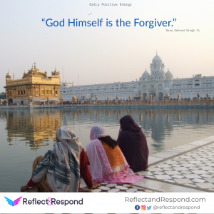 god forgive Sikhs quotes guru Gobind Singh