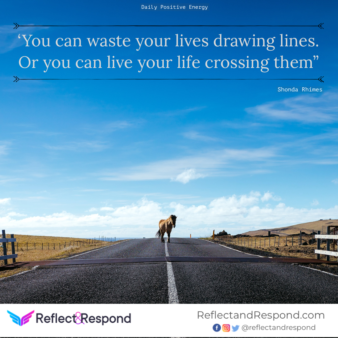 positive quote waste-cross-lines