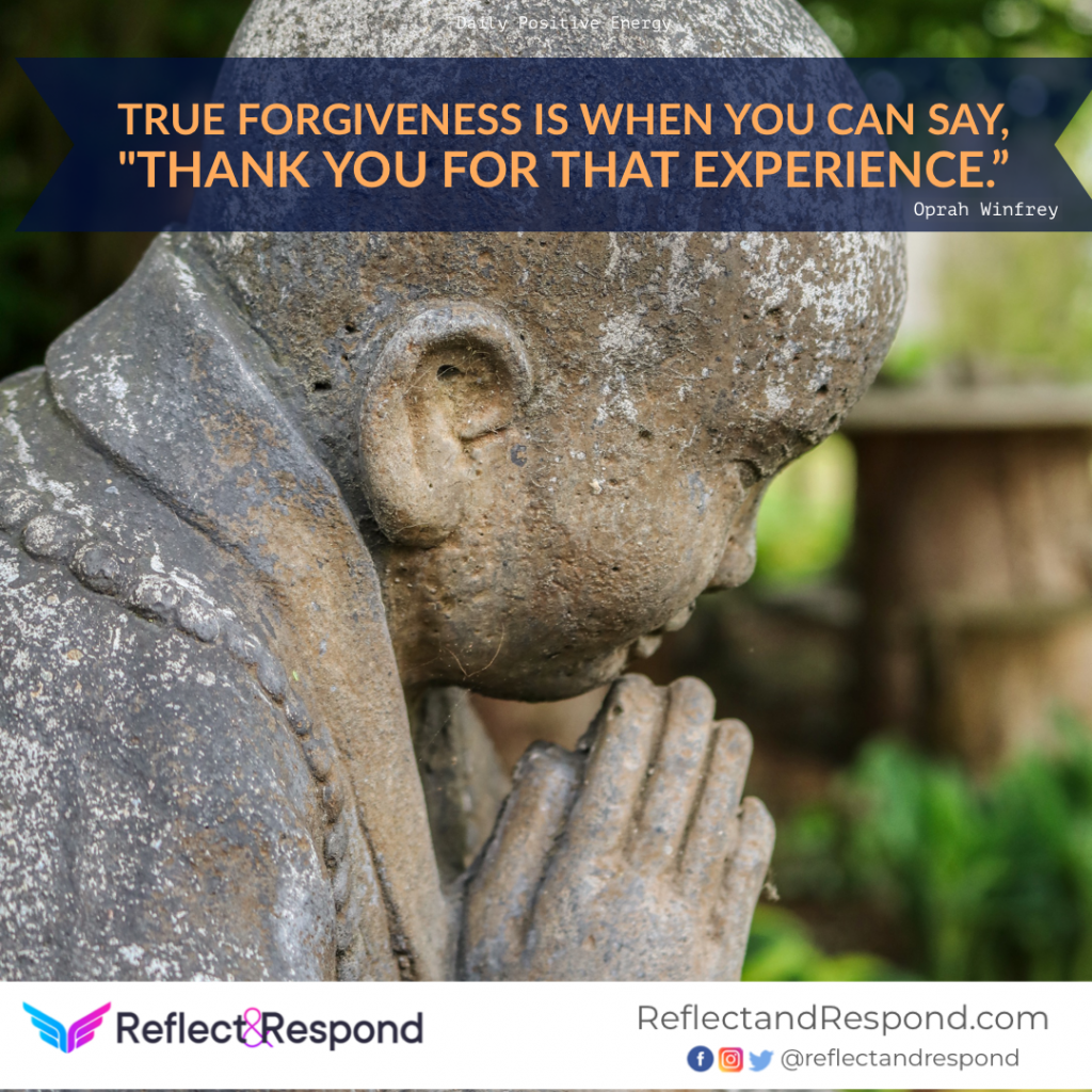 positive quote forgiveness by Oprah winfrey
