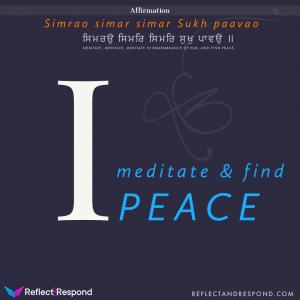 Guru Arjan Dev Ji - Medidtate and find Peace
