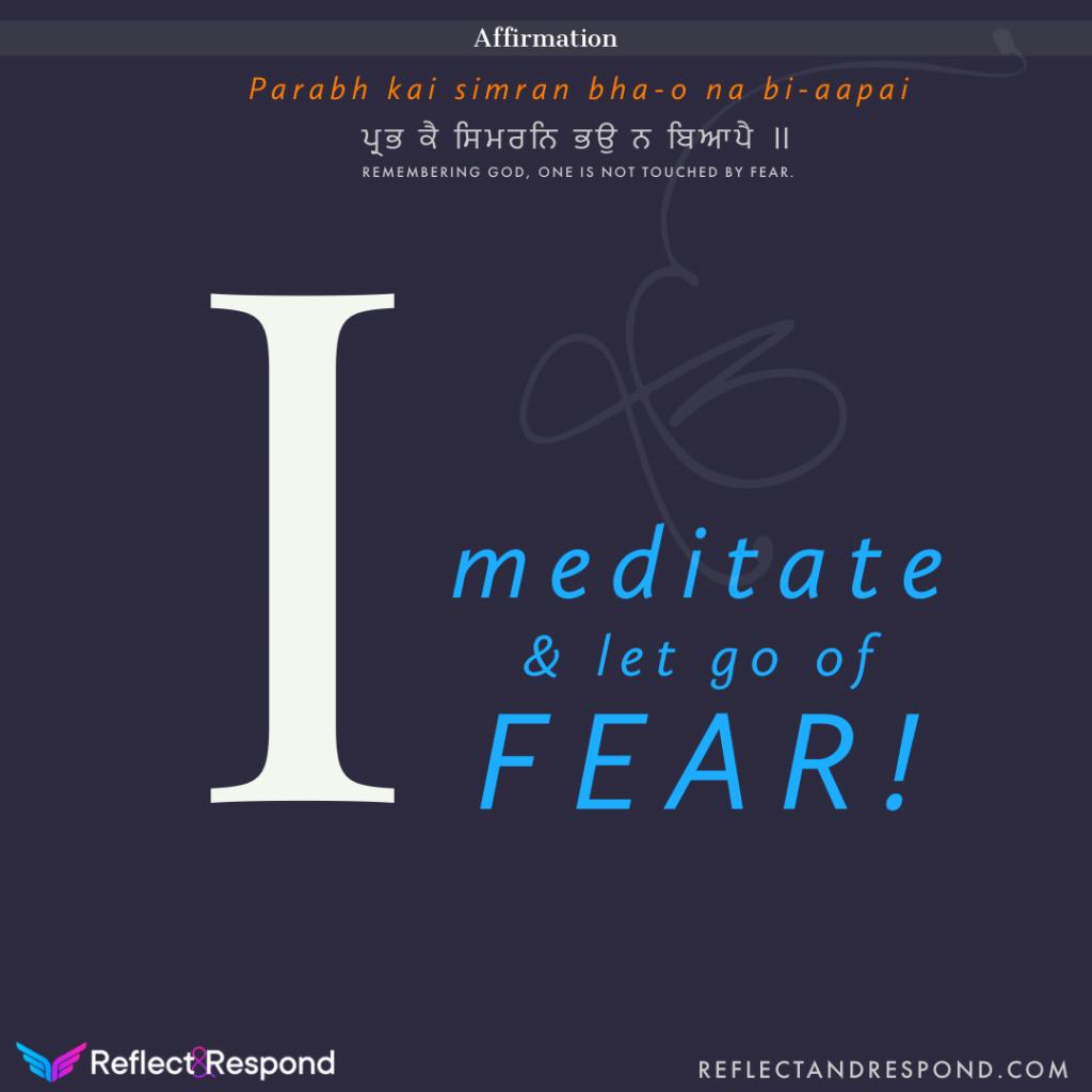 Guru Arjan dev ji - let go of fear