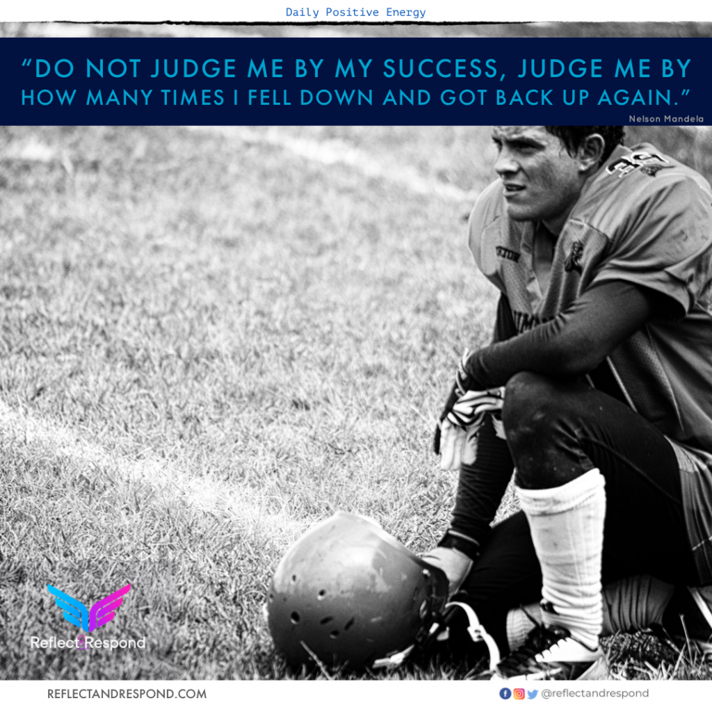 Nelson Mandela: do not judge me by my success