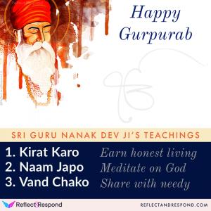 Guru Nanak Dev Three Teachings
