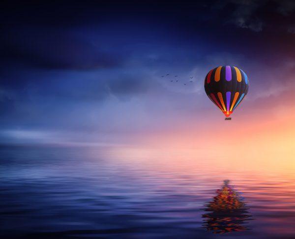 Hot air balloon 2411851 - ReflectandRespond