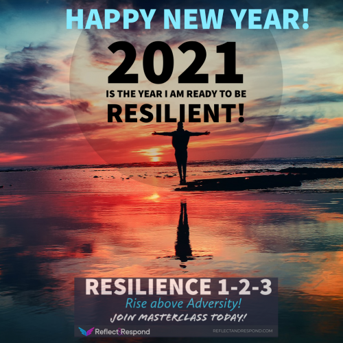 2021-HAPPY NEW YEAR - BE RESILIENT